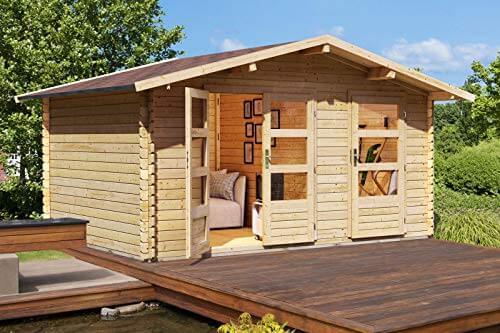 Karibu Woodfeeling Gartenhaus